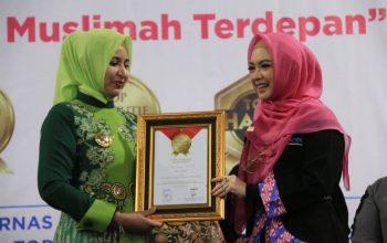 TOP Eksekutif Muslimah 2019 untuk Bupati Jember