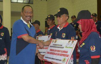 Ketua KONI Jatim Berharap, Penghargaan yang Diberikan Bupati Jember Menjadi Stimulant bagi Kabupaten Lain untuk Memberikan Penghargaan kepada Atletnya