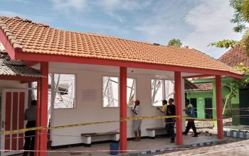 Lagi, Proyek Bangunan dengan Dana APBD Ambruk