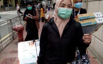 Tidak Hanya Warga Jember Saja, Lansia Hongkong pun Juga Memanfaatkan Masker yang Dikirim Pemkab Jember