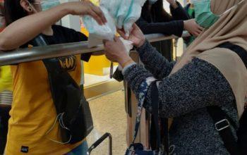 Masker Kiriman Pemkab Jember untuk Mencegah Penularan Virus Corona Sudah Dimanfaatkan Warga Jember di Hongkong