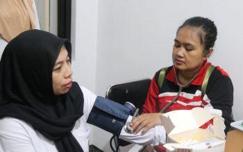 Puskesmas Sumbersari Beri Layanan Kesehatan dan Penyuluhan tentang Hepatitis Di Kejari Jember