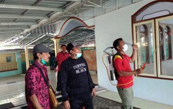 Cegah Penyebaran COVID-19 di Tanggul, 8 Desa Sudah, Tinggal Pasar yang Belum Disemprot Desinfektan