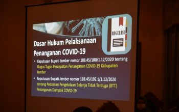 Hindari Tudingan untuk Kampanye Terselubung, Pemkab Jember Jalin Kerjasama Pendampingan Hukum dalam Penggunaan Anggaran Covid-19
