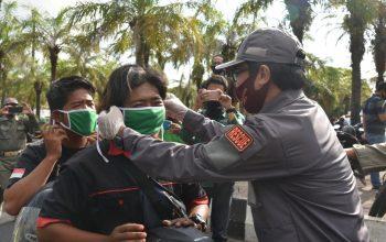 Gerakan Jatim Bermasker Dimulai, Jember Bagikan 500 Ribu Masker Serentak di Seluruh Kecamatan
