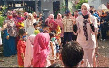 Demi Keselamatan Bersama, Hari Libur pun Dimanfaatkan untuk Sosialisasi Penggunaan Masker